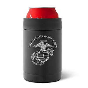 Can Koozie, USMC can koozie, patriotic can koozie, stainless steel can koozie