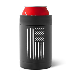 Can Koozie, American Flag can koozie, patriotic can koozie, stainless steel can koozie