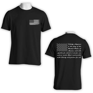 Pledge of Allegiance T-Shirt - Patriotic Apparel