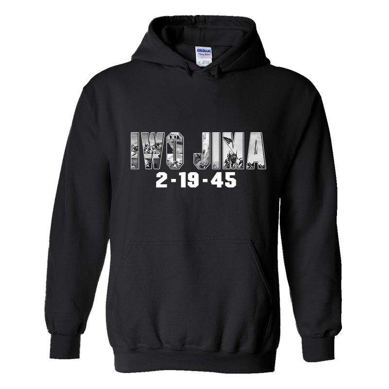 Battle of Iwo Jima 75th Anniversary USMC Hoodie