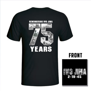 Iwo Jima 75th Anniversary T-Shirt - Limited Edition