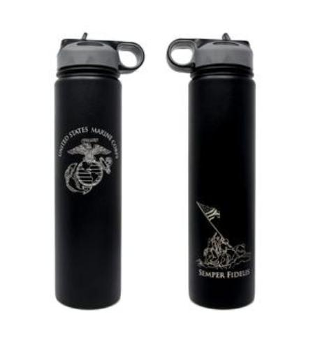USMC 24oz Water Bottle