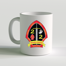 2nd Bn 2nd Marines, 2/2 coffee mug, USMC Coffee Mug, Warlords