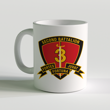 2nd Bn 3rd marines, 2/3 coffee mug, fortes fortuna juvat, USMC Coffee Mug