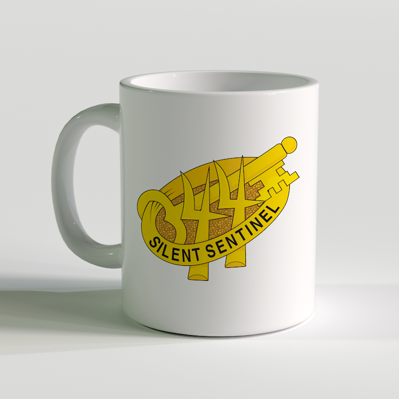 344th Military Intelligence BN Coffee Mug, 344th Military Intelligence Battalion, US Army Coffee Mug