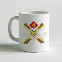 3/14 unit coffee mug, 3rd bn 14th marines, usmc coffee mug