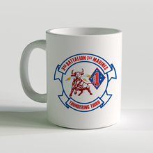 3/1 unit coffee mug, 3rd Battalion 1st Marines, Thundering Third