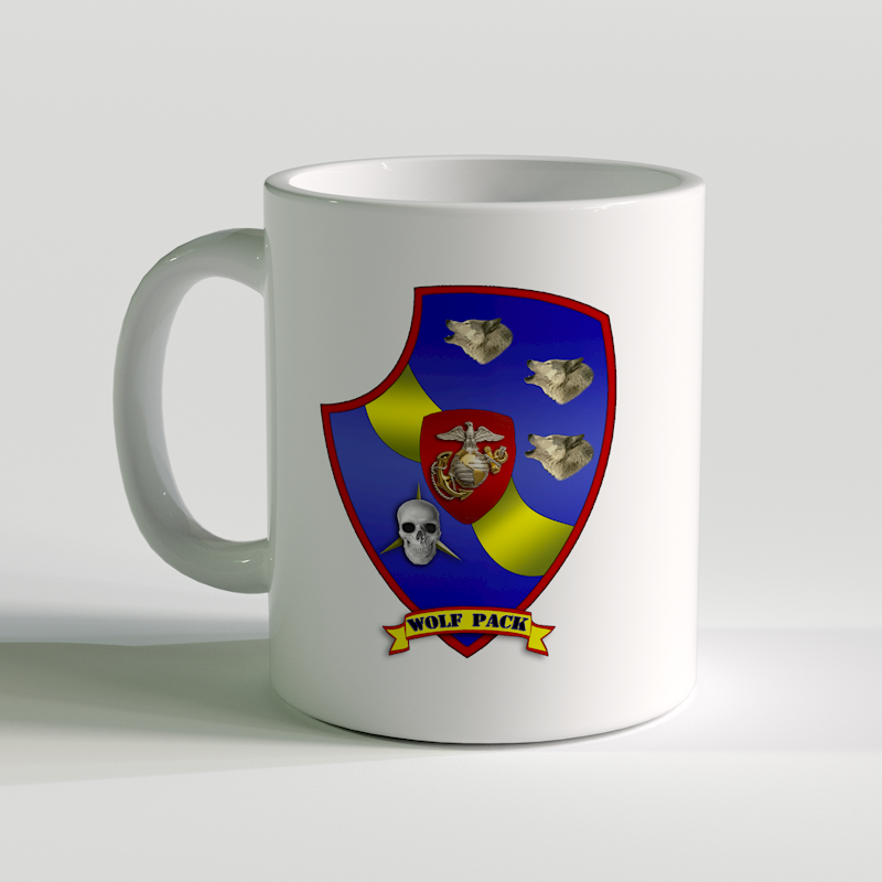 3rd LAR unit coffee mug, 3rd Light Armored Reconnaissance Battalion