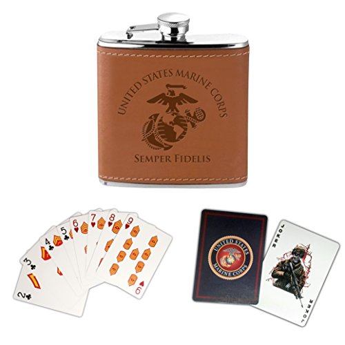 Flask and Card Set