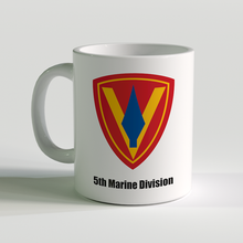 5th Marine Division coffee mug, 5th Marine Division, USMC Coffee Mug