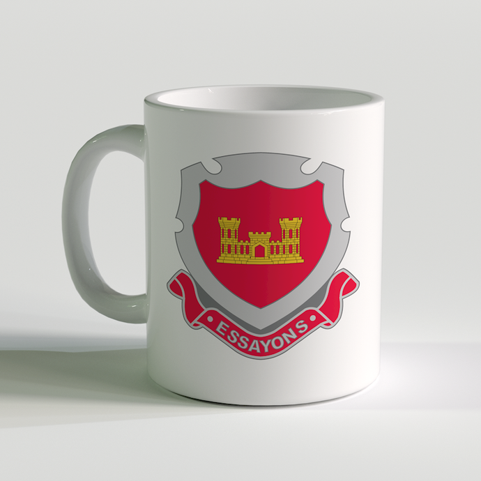US Army Engineer Corps, Essayons, US Army Coffee Mug