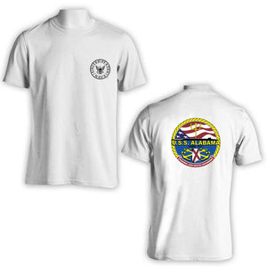 USS Alabama T-Shirt, SSBN-731 T-Shirt, SSBN-731, US Navy T-Shirt, Submarine, US Navy Apparel