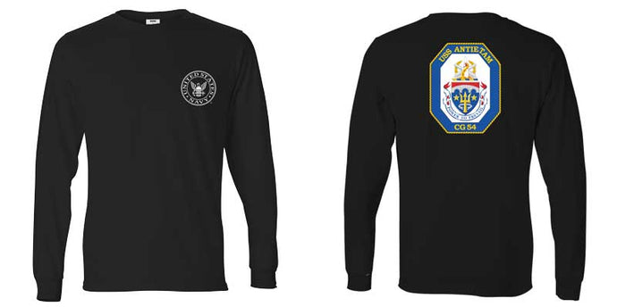 USS Antietam Long Sleeve T-Shirt, CG-54 t-shirt, CG-54