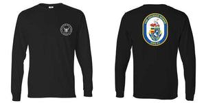 USS Arleigh Burke Long Sleeve T-Shirt, DDG-51 t-shirt, DDG-51