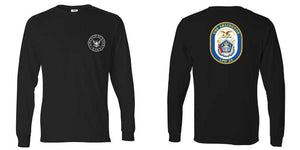 USS Arlington Long Sleeve T-Shirt, LPD-24