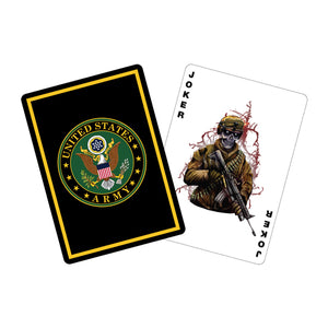 US Professional Quality Army Playing Cards