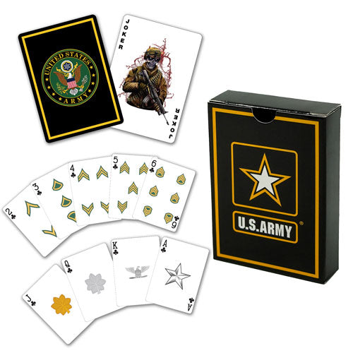 Army Playing Cards