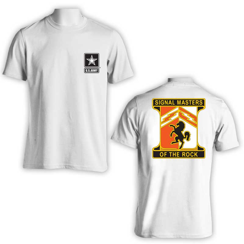 114th Signal Corps Battalion, US Army Signal Corps, US Army T-Shirt, US Army Apparel, Signal Masters of the rock