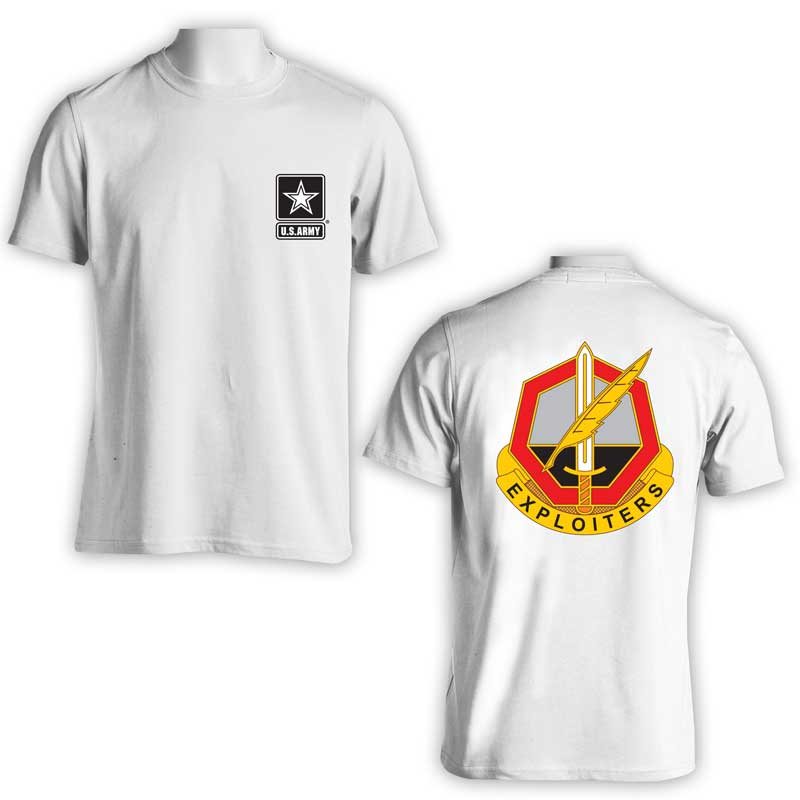 11th Psychological Operations Bn, US Army Psych Ops, US Army T-Shirt, US Army Apparel, Exploiters