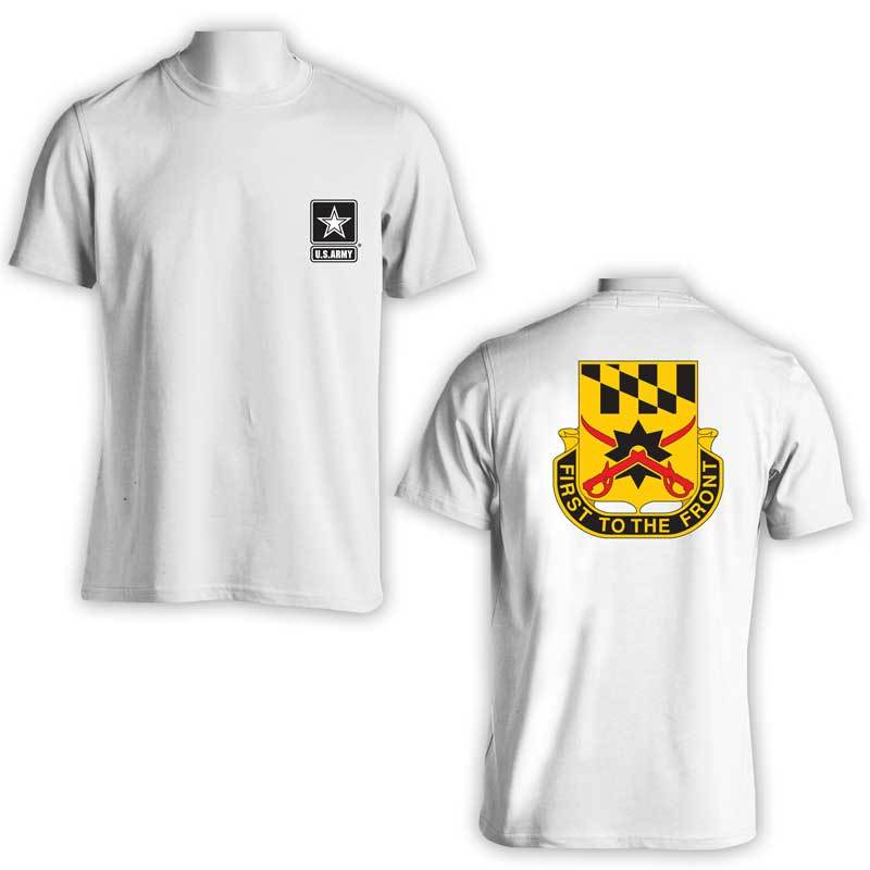158th Calvary Regiment, US Army T-Shirt, First to the Front