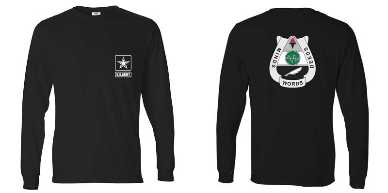 15th Psychological Operations Battalion Long Sleeve T-Shirt, PSYOP, Army Psych Ops
