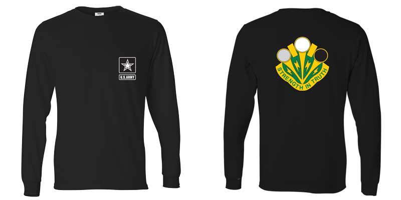 16th Psychological Operations Battalion Long Sleeve T-Shirt, PSYOP, Army Psych Ops