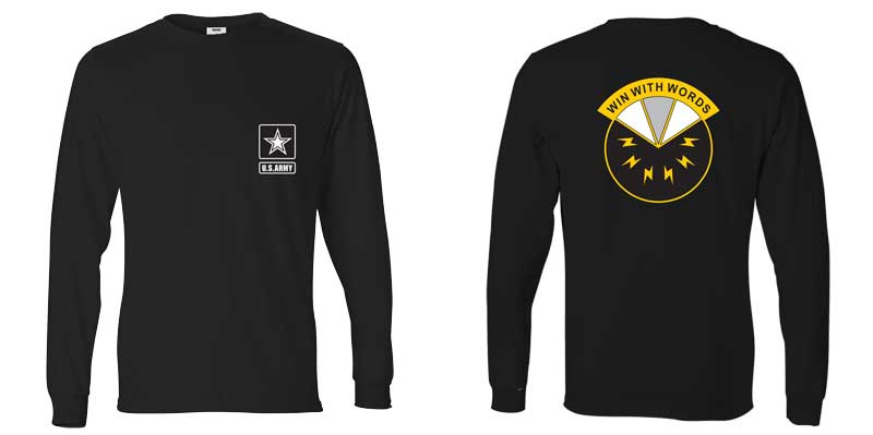 17th Psychological Operations Battalion Long Sleeve T-Shirt, PSYOP, Army Psych Ops