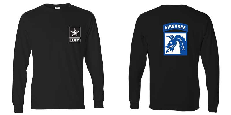 18th Airborne Division Long Sleeve T-Shirt
