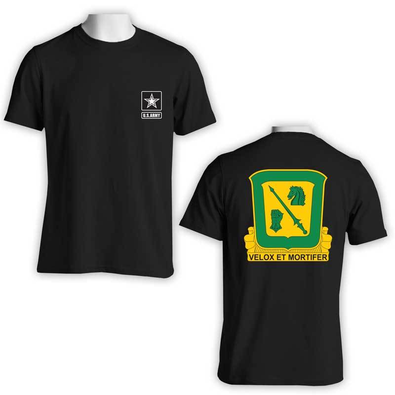 18th Calvary Regiment t-shirt, US Army T-Shirt, Velox Et Mortifer