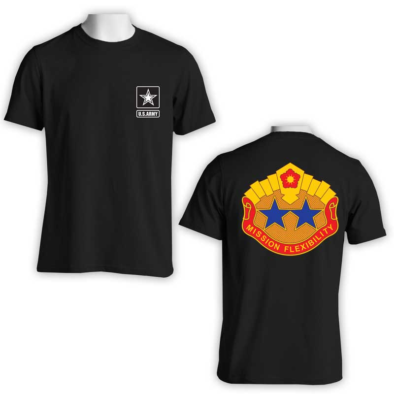 US Army 19th Sustainment Command, US Army T-Shirt, US Army Apparel, Mission Flexibility