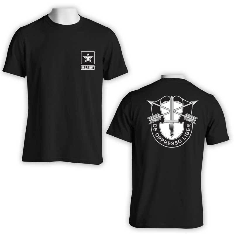 US Army Special Forces, US Army Special Forces Command, 1st Special Forces Command, US Army T-Shirt, US Army Apparel, De Oppresso Liber