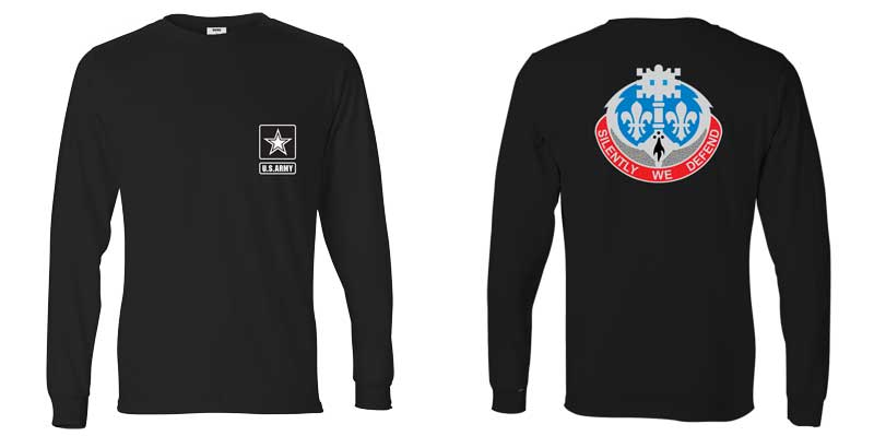 204th Military Intelligence Battalion Long Sleeve T-Shirt