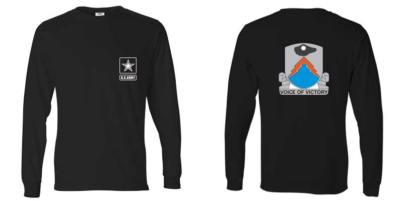 24th Signal Corps Long Sleeve T-Shirt