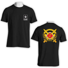 US Army T-Shirt, US Army Apparel, 2nd Medical Brigade, Center of Mercy