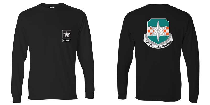 313th Military Intelligence Battalion Long Sleeve T-Shirt