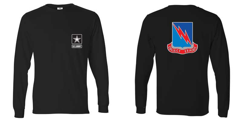 323rd Military Intelligence Battalion Long Sleeve T-Shirt