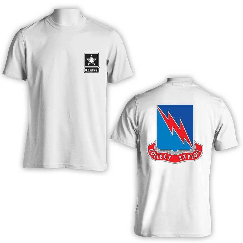 323rd Military Intelligence Bn, US Army Intel, US Army T-Shirt, US Army Apparel, Collect Exploit