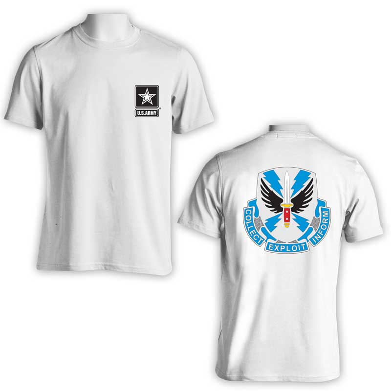 337th Military Intelligence, US Army Intel, US Army T-Shirt, US Army Apparel, Collect Exploit inform