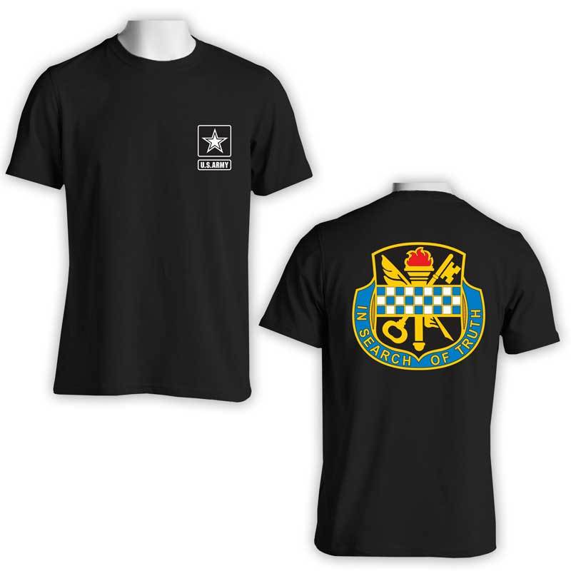 372nd Military Intelligence Bn, US Army Intel, US Army T-Shirt, US Army Apparel, In search of truth