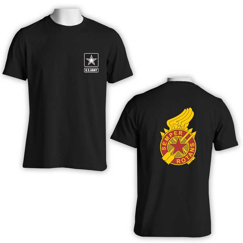 US Army Transportation Group, 37th Transportation Group, US Army T-Shirt, US Army Apparel, Semper Rotans