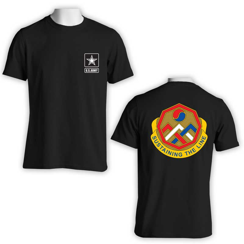 US Army 3rd Sustainment Command, US Army T-Shirt, US Army Apparel, US Army Ranger, Sustaining the line