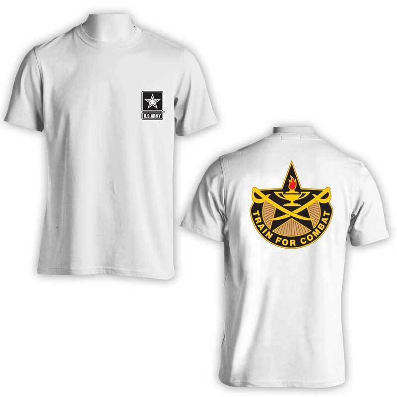 US Army T-Shirt, Train for Combat, 4th Calvary Brigade, 4th Calvary regiment