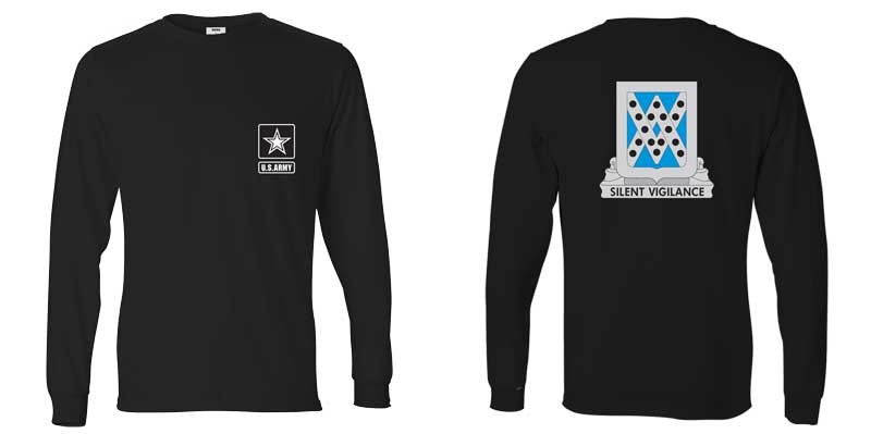 524th Military Intelligence Battalion Long Sleeve T-Shirt