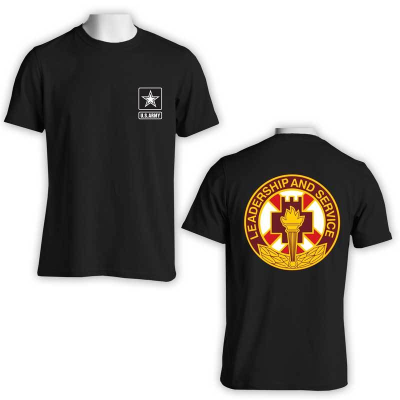 5th Medical Brigade, US Army T-Shirt, US Army Apparel, Leadership and service