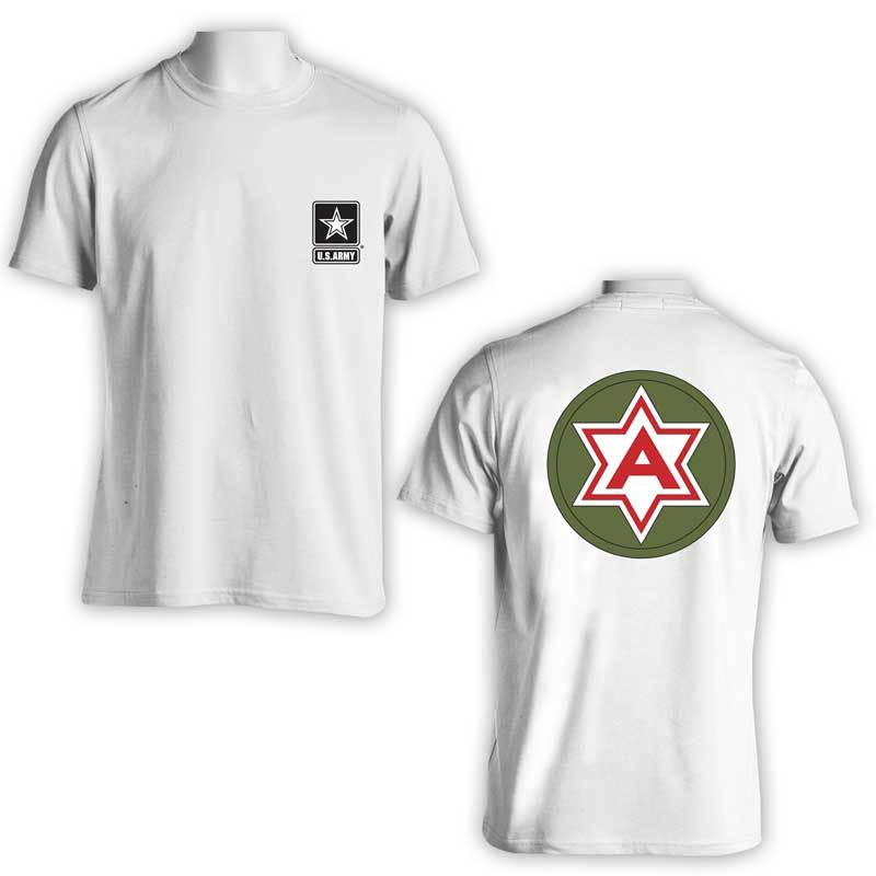 6th Army, US Army, US Army T-Shirt, US Army Apparel, Field Army