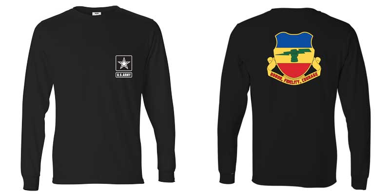 73rd Calvary Regiment Long Sleeve T-Shirt