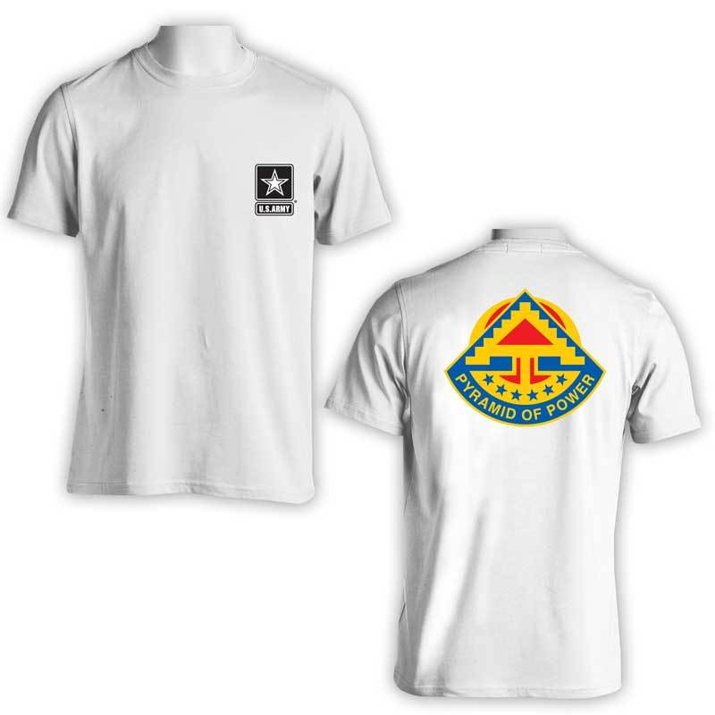 7th Field Army, US Army T-Shirt, 7th Army, US Army Apparel, Pyramid of Power