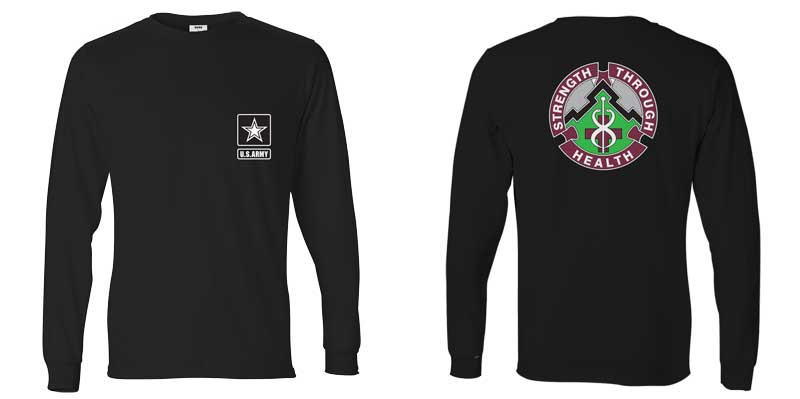 8th Medical Battalion Long Sleeve T-Shirt
