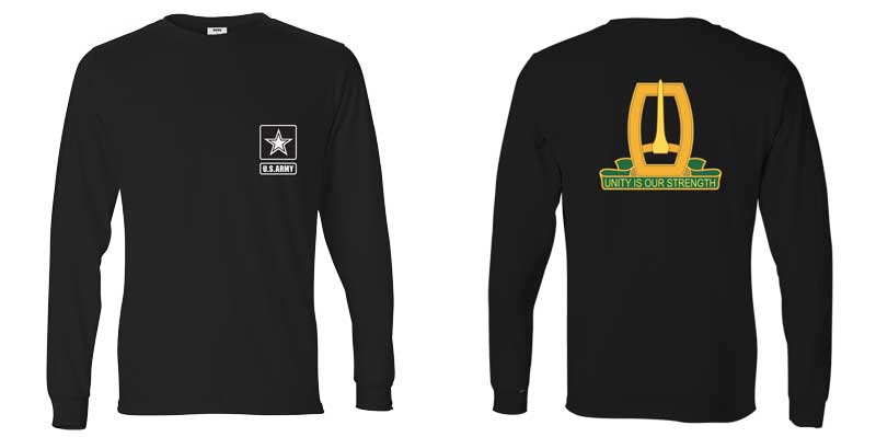 96th Military Police Battalion Long Sleeve T-Shirt