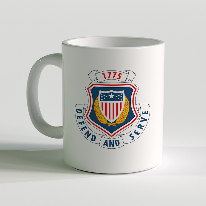 US Army Adjutant General Corps, US Army Coffee Mug, Protect and serve